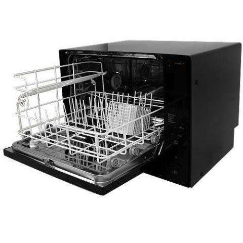 Countertop Dishwasher Koldfront : Details about KOLDFRONT PORTABLE COUNTERTOP DISHWASHER BLACK