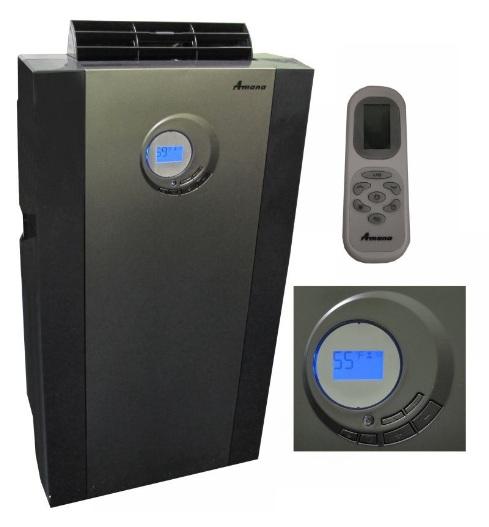amana 14 000 btu portable air conditioner with remote ap148ds ebay. Black Bedroom Furniture Sets. Home Design Ideas