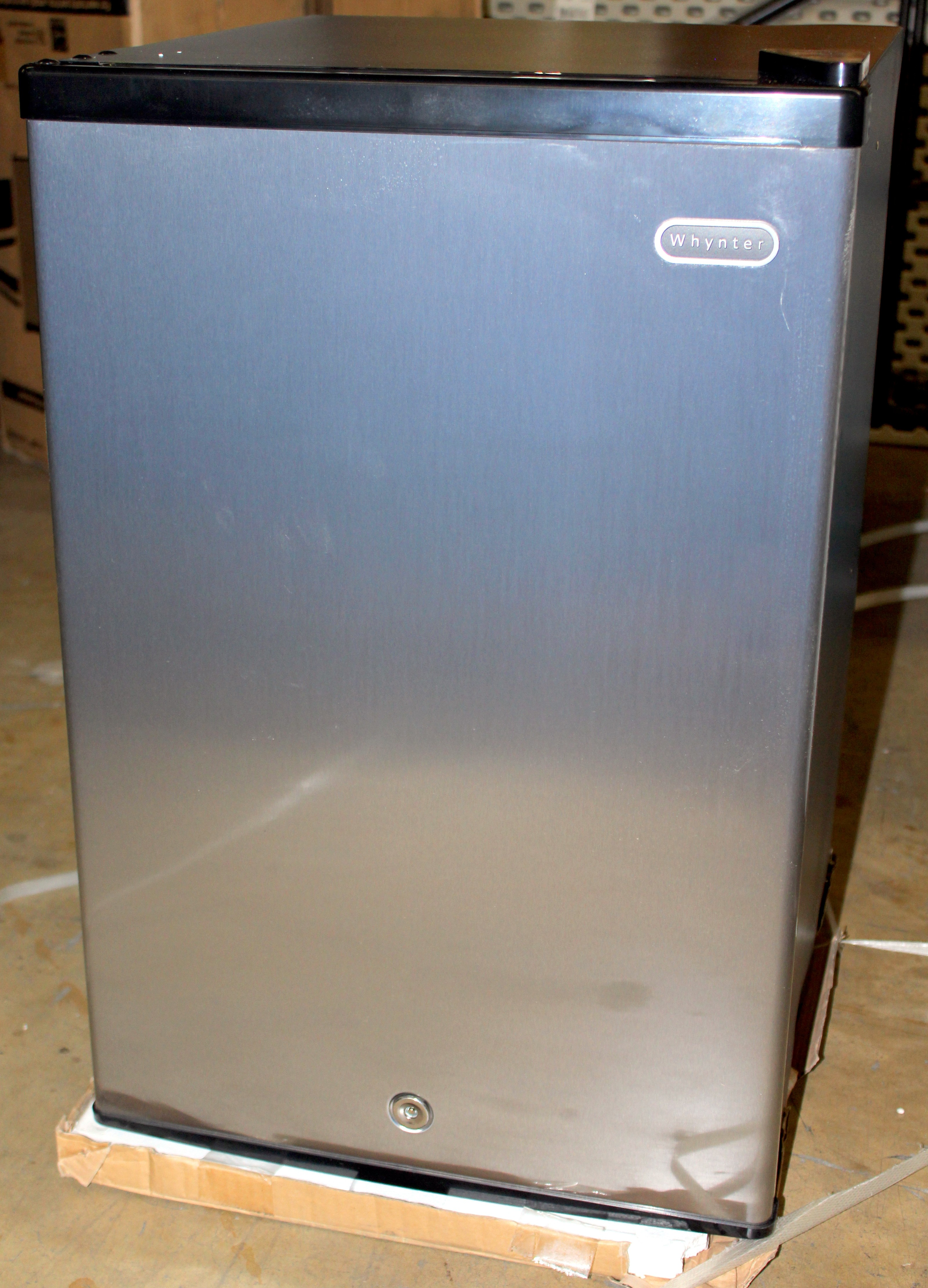 Whynter 2 1 Cu Ft Energy Star Stainless Steel Upright