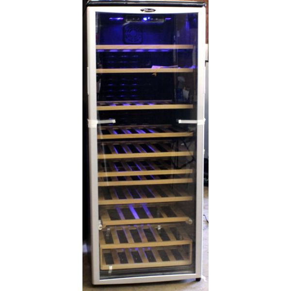 "Danby Designer 75 Bottle 24"" Freestanding Wine Cooler DWC612BLP Refurb"