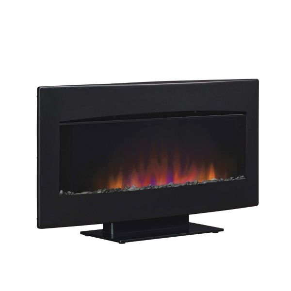 ClassicFlame Electric Wall Mount Fireplace Heater 34HF610GRA