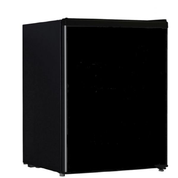 Midea 2.4 CF Compact Refrigerator with Freezer Space, Black WHS-87LB1