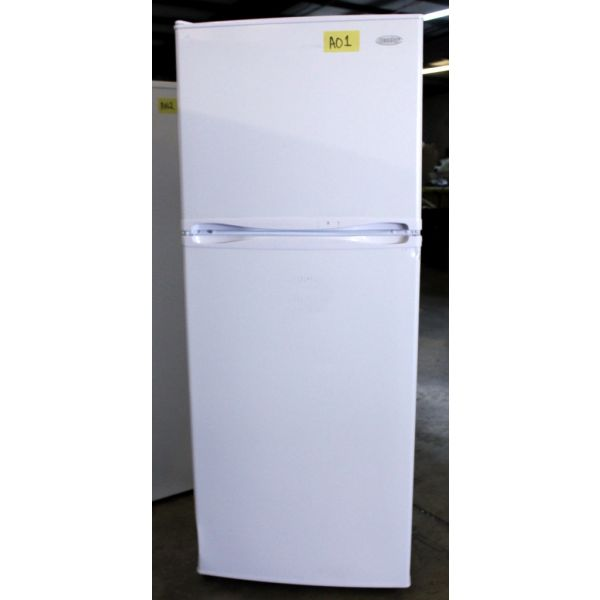 AO1 Danby 10 CF Apartment Size Refrigerator with Freezer, Scratch & Dent, 90 Day Warranty