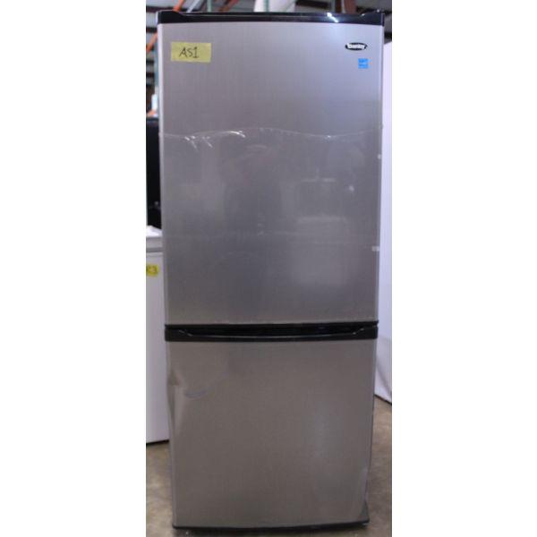 Danby 9.2 CF Bottom Freezer Apartment Size Refrigerator, Stainless DFF092C1BSLDB AS1