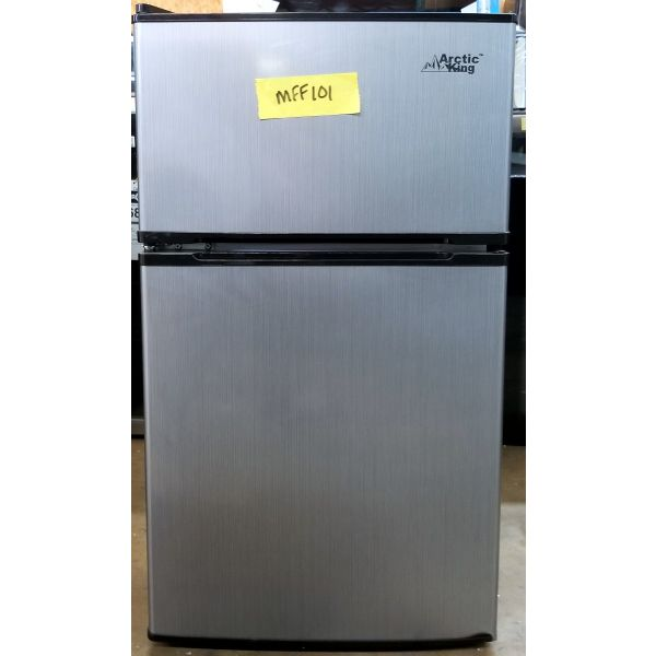 Arctic King 3.2 cf Compact Fridge w/ Freezer, Stainless ATMP032AES_R MFF101