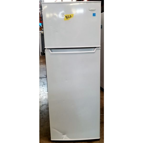 Danby 7.3 CF Apartment Size Refrigerator with Freezer DPF073C2WDB BG2