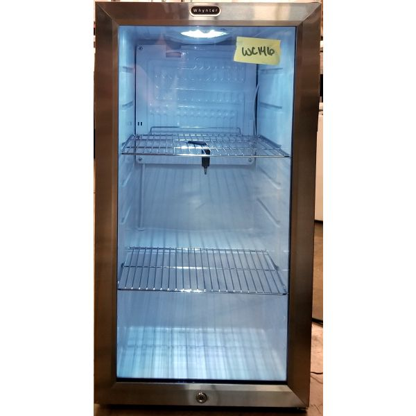 Whynter 120 Can Beverage Cooler Stainless Refrigerator With Lock BR-128WS WC146