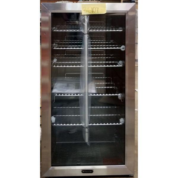 Whynter 120 Can Internal Fan Beverage Refrigerator BR-130SB BR107