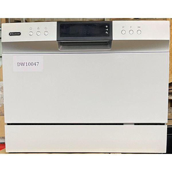 Whynter Energy Star Compact Countertop Portable Dishwasher CDW-6831WES 047