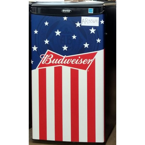 Danby Budweiser Beer Compact All Refrigerator DAR033A1BBUD2 691