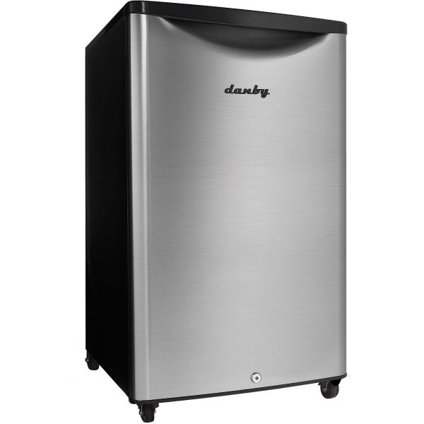 Danby 4.4 CF Outdoor Rated All Refrigerator, Stainless DAR044A6BSLDBO 460