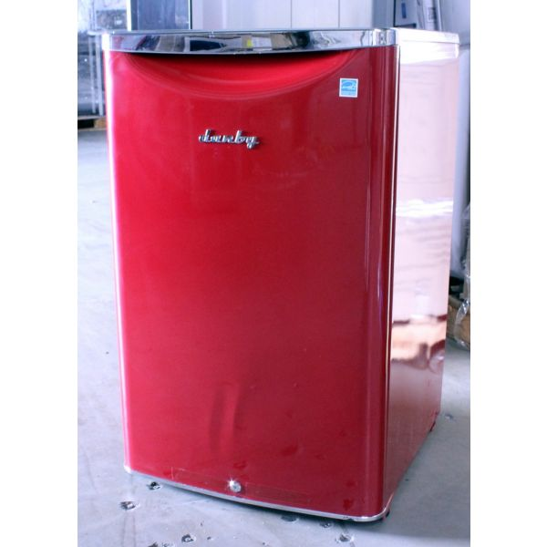 Danby Retro Style 4.4 CF Compact All Refrigerator Red DAR044A6LDB