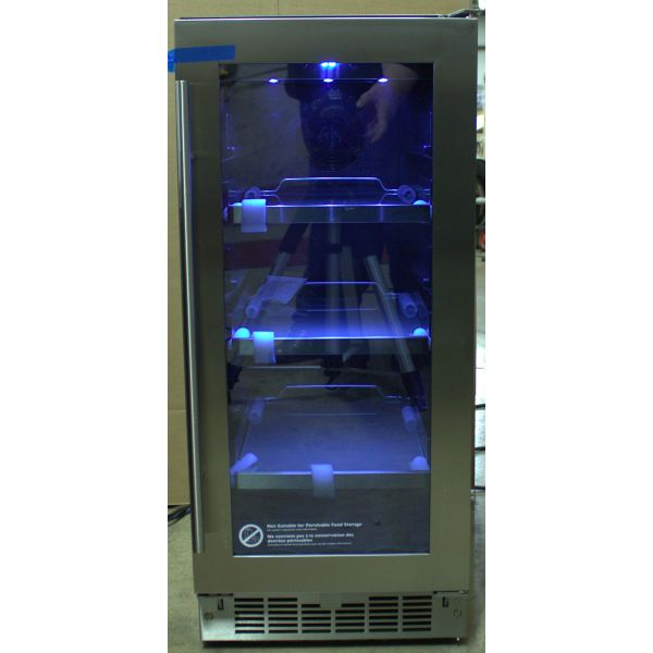 """Danby Silhouette 15""""  Single Zone Built In Beverage Center DBC031D4BSSPR"""