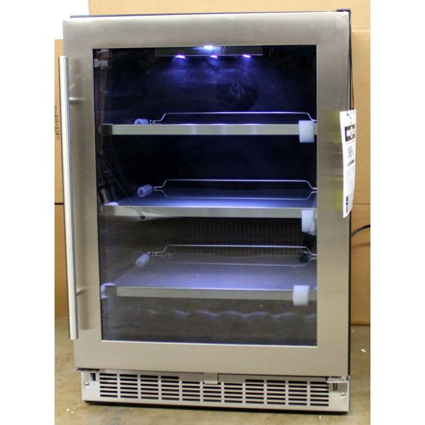 "Danby 24"" Built-In 126 Can 6 Bottle Beverage Center DBC056D4BSSPR"