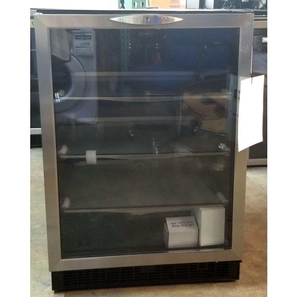 "Danby Silhouette 24"" Built In Beverage Cooler Refurbished DBC514BLS GA1"