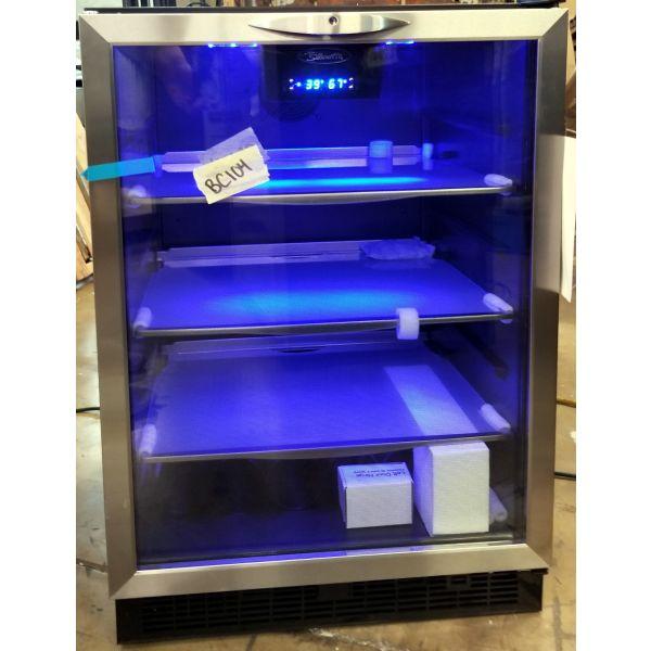 "Danby Silhouette 24"" Built In Beverage Cooler Refurbished DBC514BLS BC104"