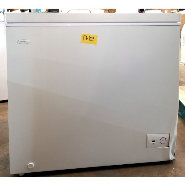 Danby Diplomat 7.0 CF Chest Freezer, White, Scratch & Dent  DCF070B1WM CF103