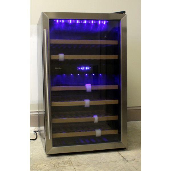Danby 38 Bottle Freestanding Dual Zone Wine Cooler DWC113BLSDB WC124