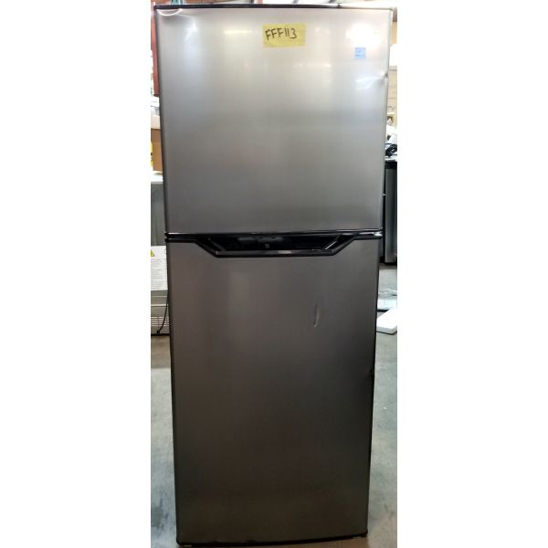 Danby 7.0 CF Apartment Size Refrigerator with Freezer DFF070B1BSLDB-6 FFF113