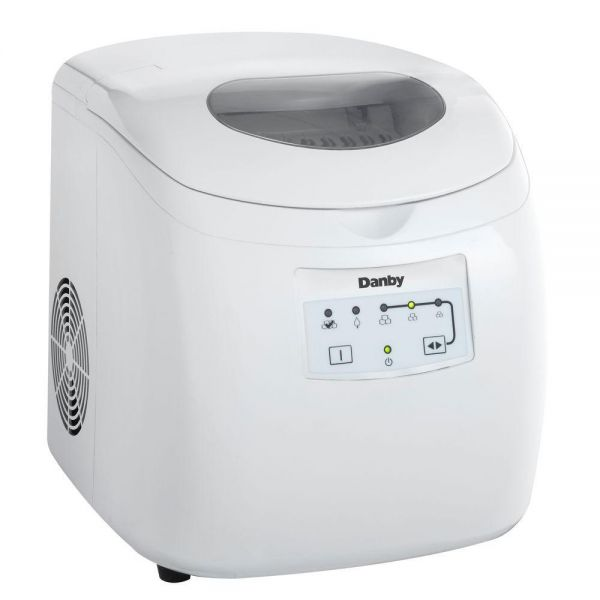 Danby 25 lb Counter Top Ice Maker in White DIM2500WDB