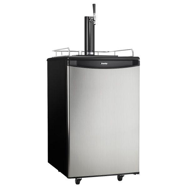 Danby 5.4 cu.ft. Beer-Meister Kegerator Dispenser DKC054A1BSLDB KG101