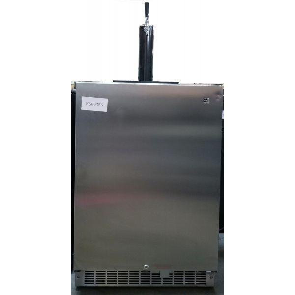 Danby 6.5 cu ft Single Tap Outdoor Kegerator Beer Dispenser DKC055D1SSPRO 356