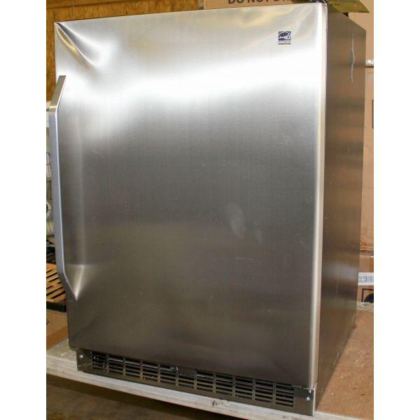 "Danby 5.4 CF 24"" Undercounter All-Refrigerator Stainless DAR154BLSST"