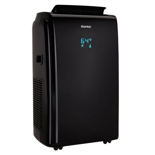 Danby 12,000 BTU Portable Air Conditioner Dehumidifier Fan DPA120E1BDB