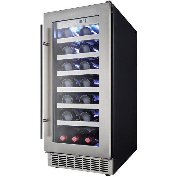 """Danby Silhouette 15"""" Built In 28 Bottle Wine Cooler DWC031D1BSSPR GA4"""