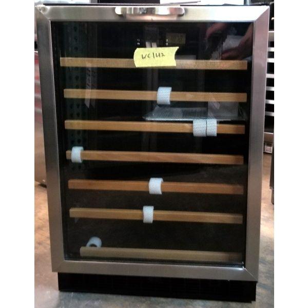 "Danby Designer Series 24"" Built-in 50 Bottle Wine Cooler DWC508BLS WC142"
