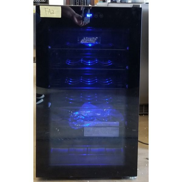 Arctic King Premium 34 Bottle Wine Cooler Slide Shelves AWCA034ADB_R FA2