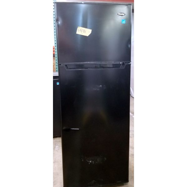 Danby 7.3 CF Apartment Size Refrigerator, Top Freezer DPF073C2BDB FFF101