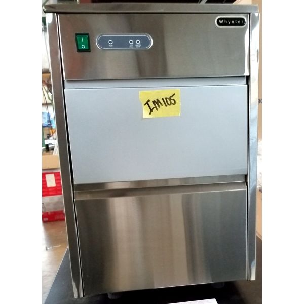 Whynter Freestanding Ice Maker Machine 44lbs Daily Stainless FIM-450HS IM105