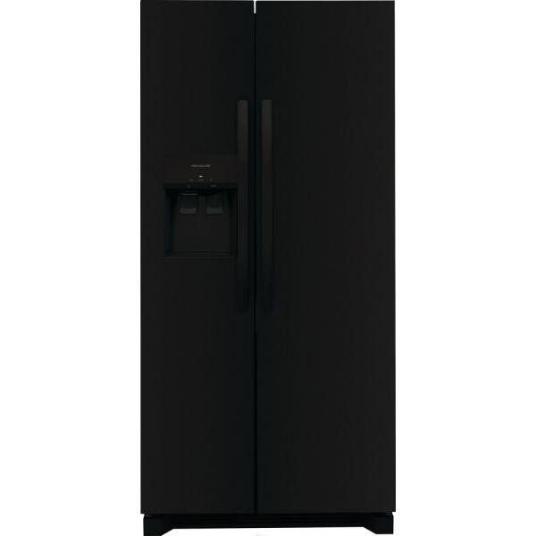 "Frigidaire 22.2CF 33"" Side by Side Refrigerator, In Door Ice FRSS2323ABO 326"