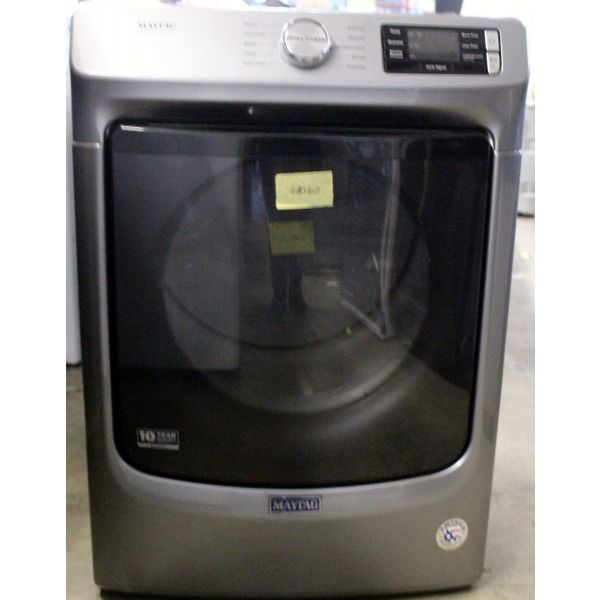 Maytag 7.3 CF Front Load Quick Dry Dry Gas Dryer MGD5630HC GAS107