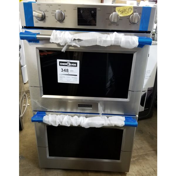 """Frigidaire Professional 30"""" Double Electric Convection Wall Oven FPET3077RF GAS121"""