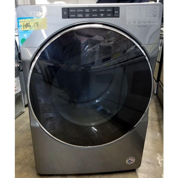 "Whirlpool 7.4 CF 27"" Steam Sanitize Energy Star Gas Dryer WGD6620HC GAS131"