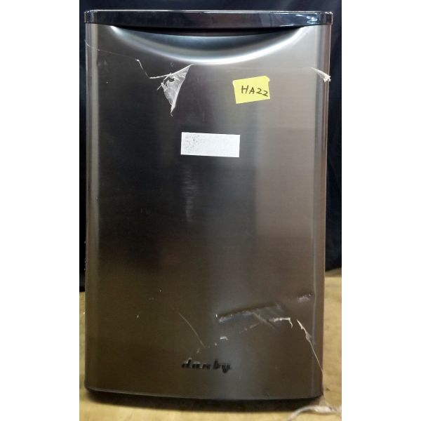Danby Retro Style 4.4 CF All Refrigerator, Stainless DAR044A8BBSL HA22