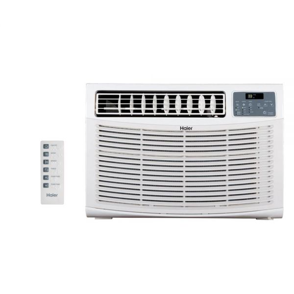 Haier 18,000 BTU Window Air Conditioner with Remote 230V HWE18VCR-L