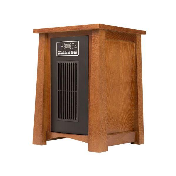 Haier 5,100 BTU Black / Wood Space Heater with Remote HHC15CPCV-1A