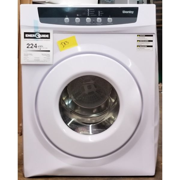 Danby 3.42 Cu Ft Portable Electric Dryer White DDY060WDB IA3