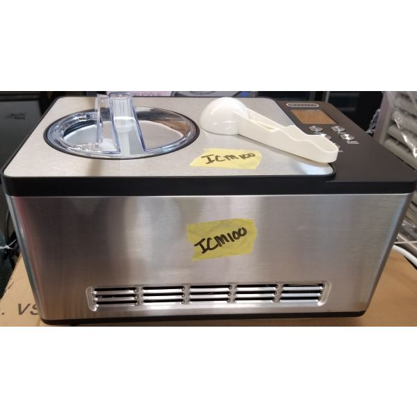 Whynter 2.1 QT Stainless Steel Counter Top Automatic Ice Cream Maker ICM-200LS IMC100