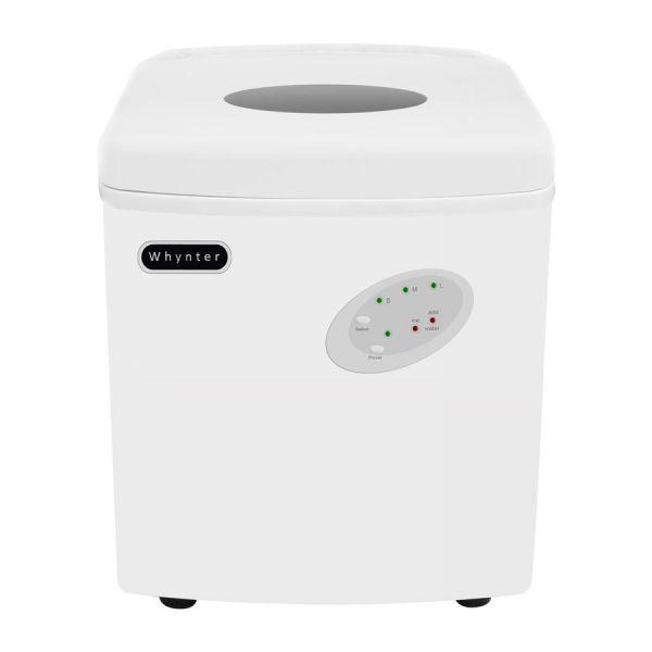 Whynter 33lb Portable Drain Free Ice Maker, White IMC-330WS