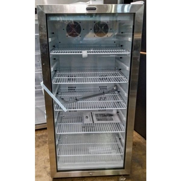 Whynter Freestanding 8.1 CF Commercial Beverage Merchandiser CBM-815WS 008