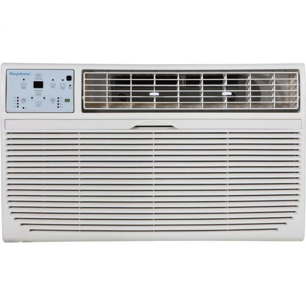 Keystone 8,000 BTU Through The Wall Air Conditioner w/ Remote 115V KSTAT08-1C