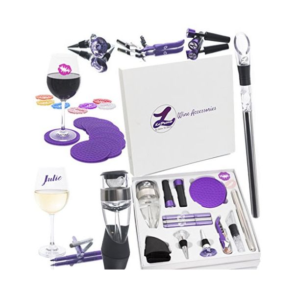 LePrene Premium 26 Piece Wine Accessory Set Wine Kit LPWS026