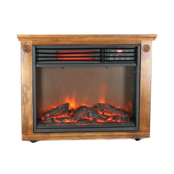 LifePro 3 Element Portable Electric Quartz Fireplace Heater LS-1111HH