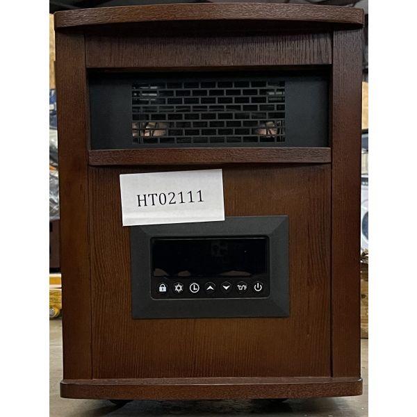 LifeSmart 6 Element Infrared Portable Space Heater, Oak Finish PCHT1009US 111