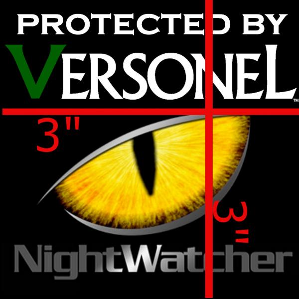 Versonel NightWatcher Pro Window Security Sticker 2 Pack VSLNWPWS