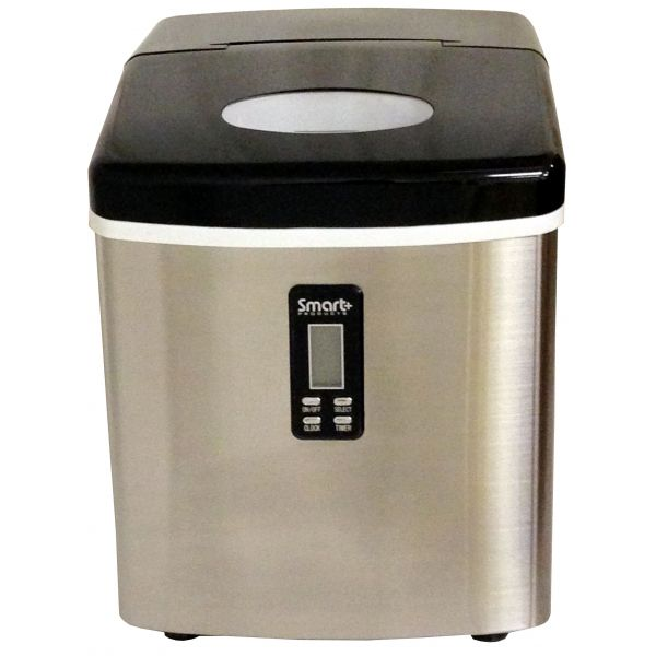 Versonel Smart+ SPP15AIM Portable Stainless Ice Maker - Refurbished